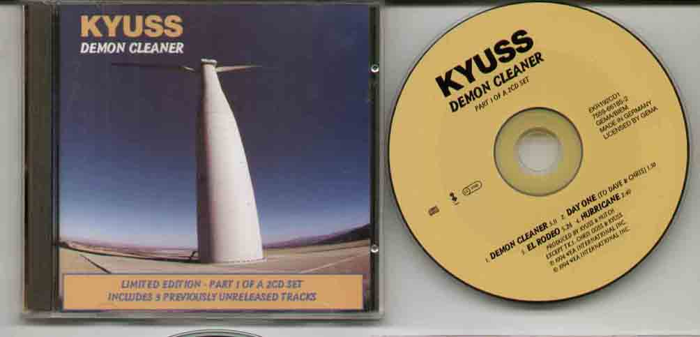 Kyuss Demon+Cleaner CD