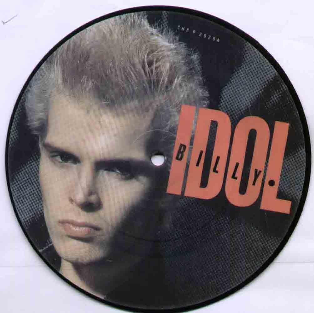 Billy Idol Hot+In+The+City 7''