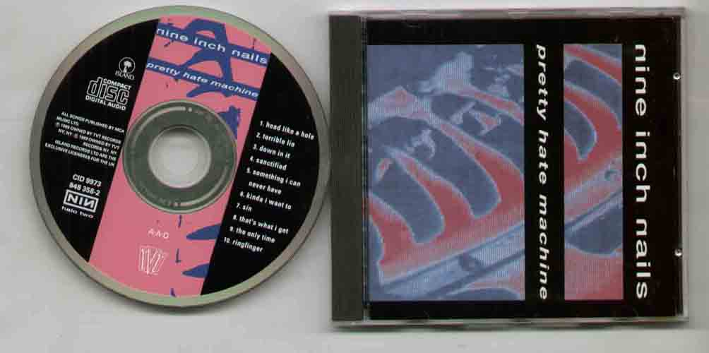Nine Inch Nails Pretty+Hate+Machine CD