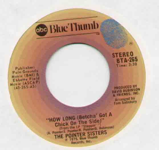 Pointer Sisters - How Long