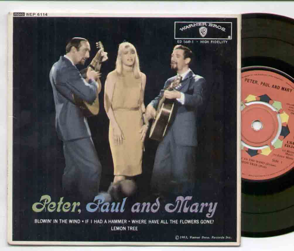 Blowin In The Wind - Peter Paul & Mary