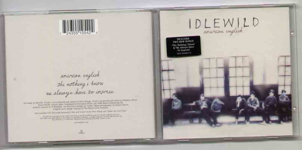 Idlewild American+English CD