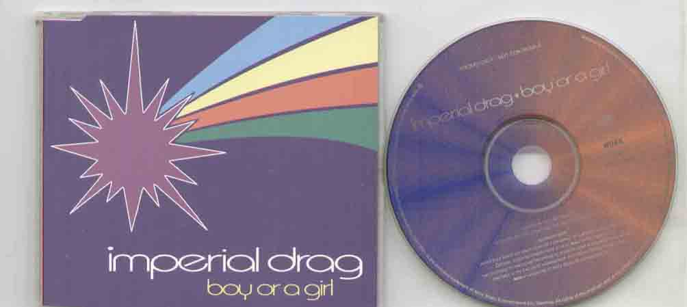 BOY OR A GIRL - 1 track promo CD single