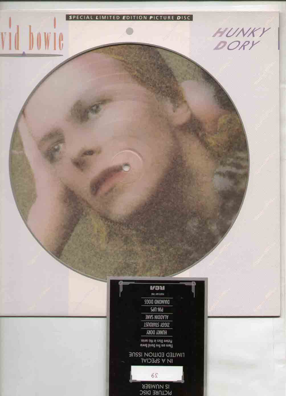 David Bowie Hunky Dory Albums,