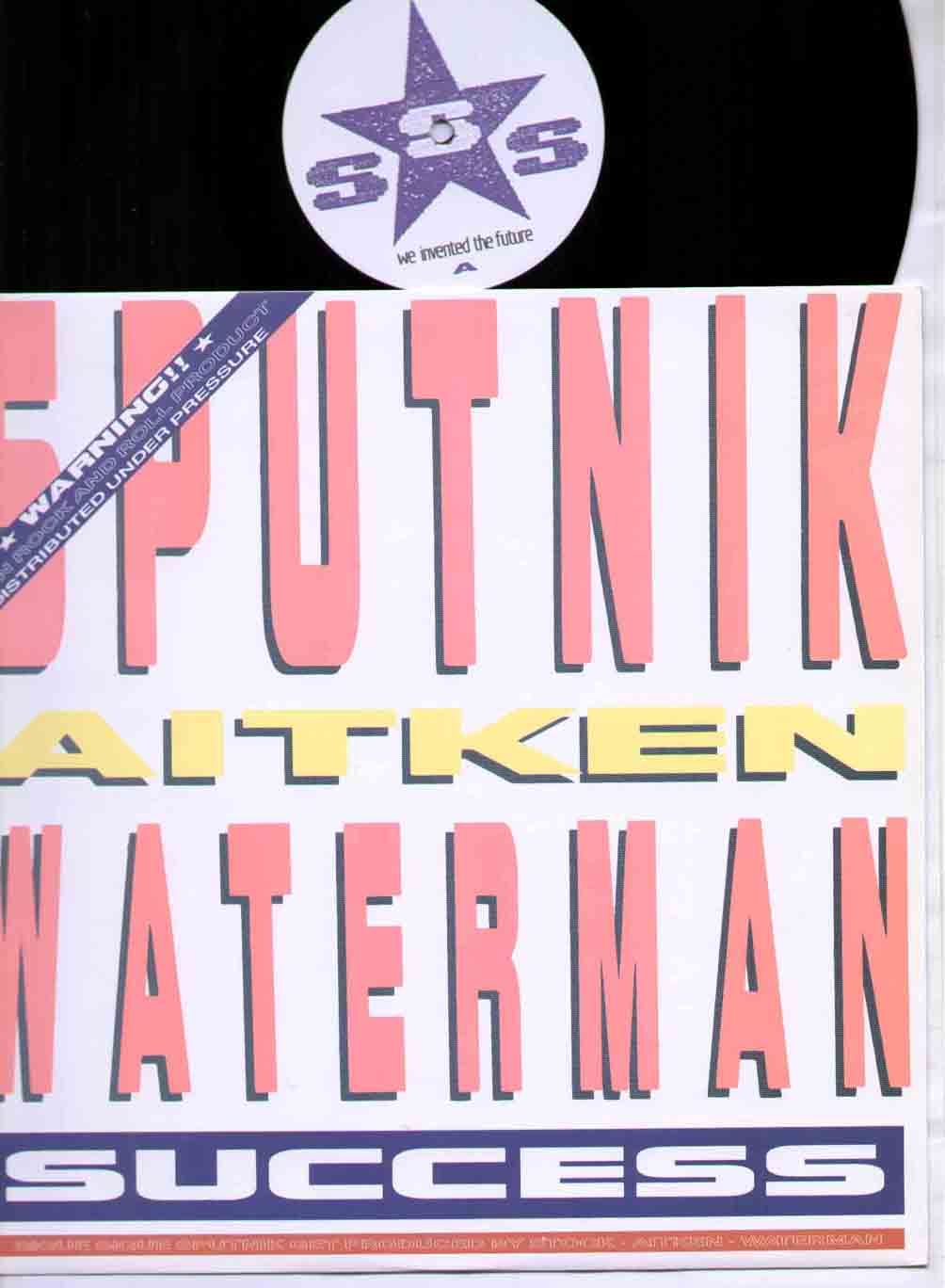 Sigue Sigue Sputnik Success 12''