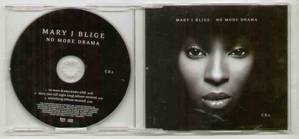 Mary J Blige No+More+Drama CD