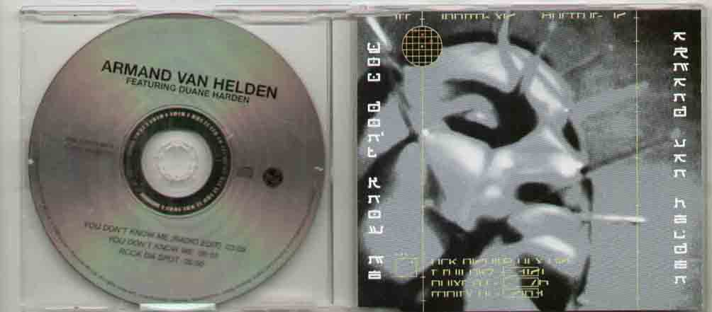 Armand Van Helden You+Don't+Know+Me CD