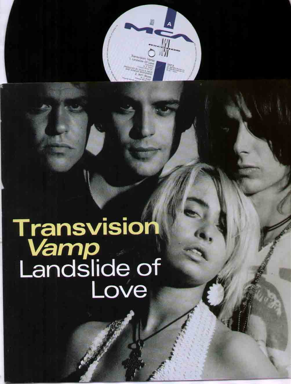 Transvision Vamp Landslide+Of+Love 12''