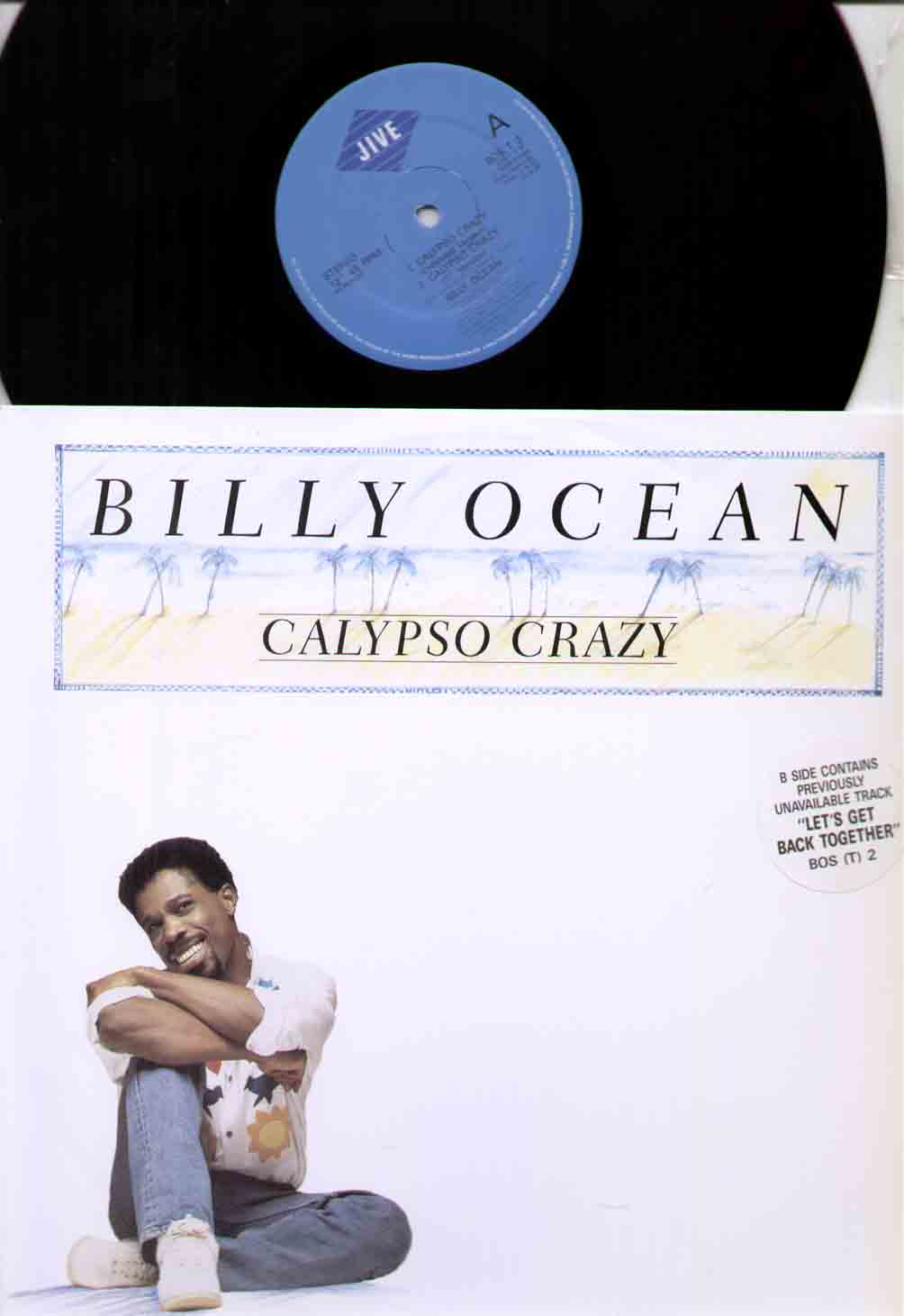Billy Ocean Calypso+Crazy 12''