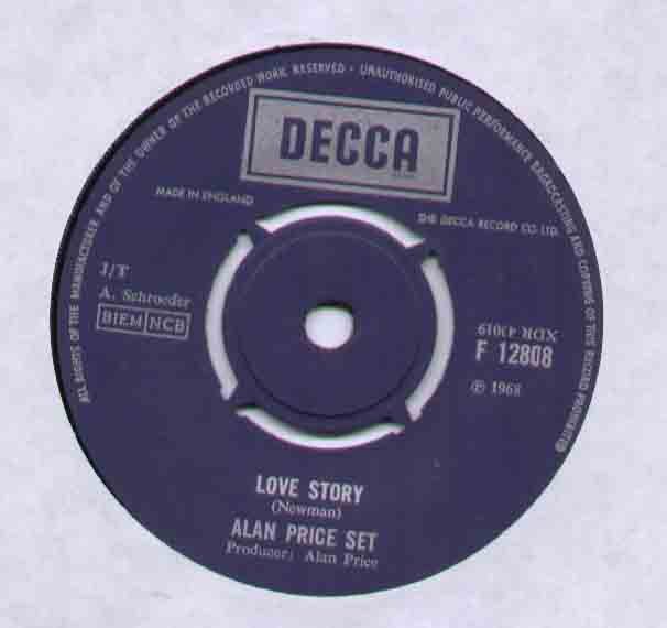 Alan Price Set - Love Story