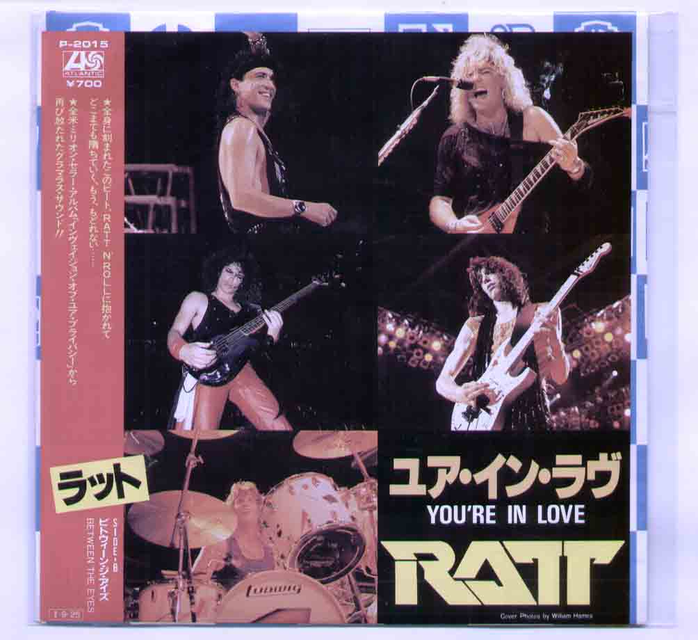 Ratt You're+In+Love 7''