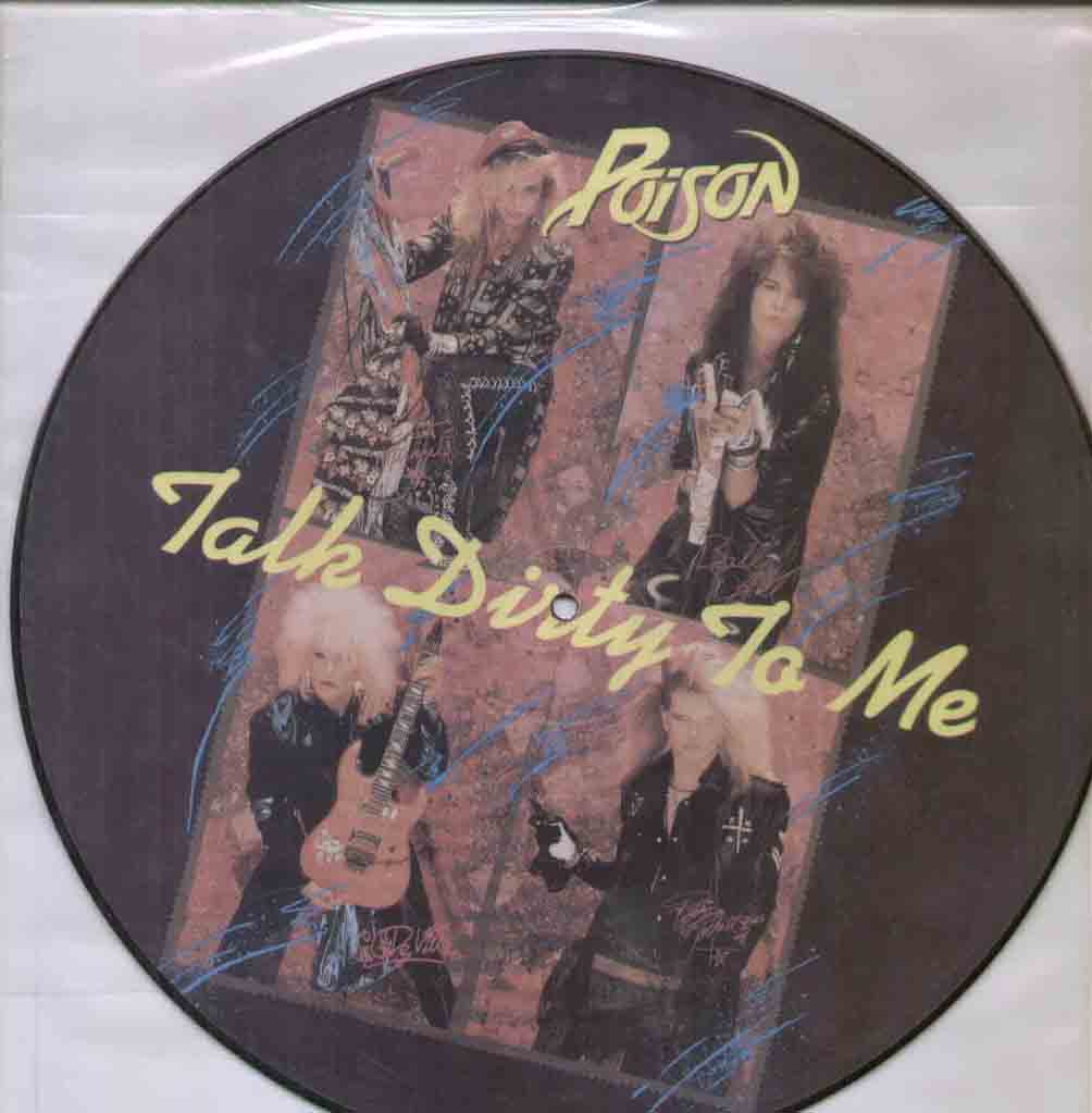 Poison Talk+Dirty+To+Me 12''