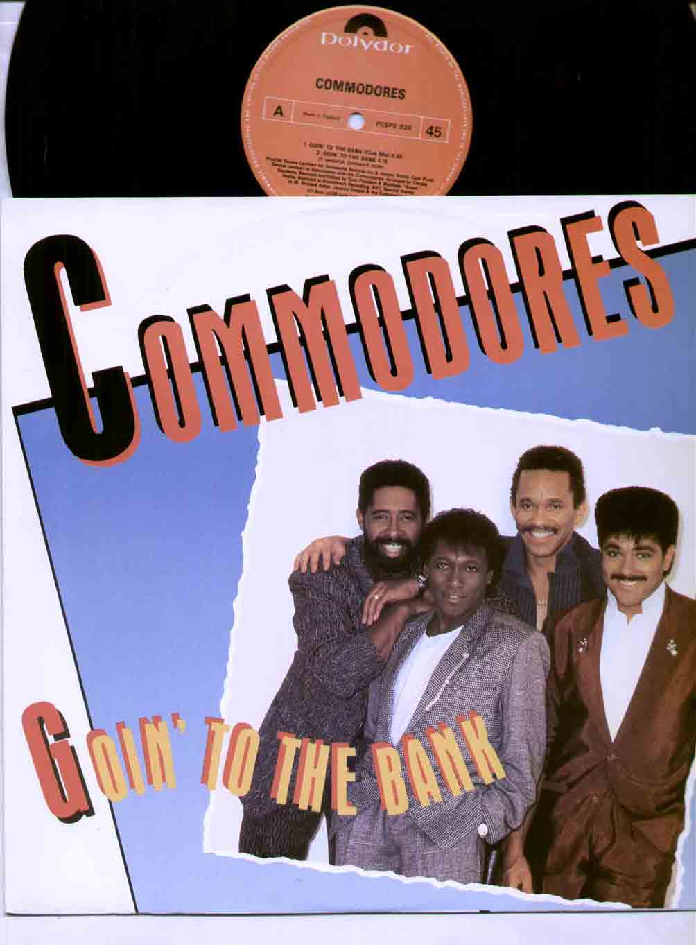 COMMODORES - Goin To The Bank