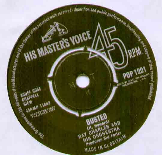 Ray Charles Busted 7''