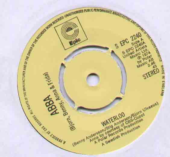 ABBA Waterloo 7''