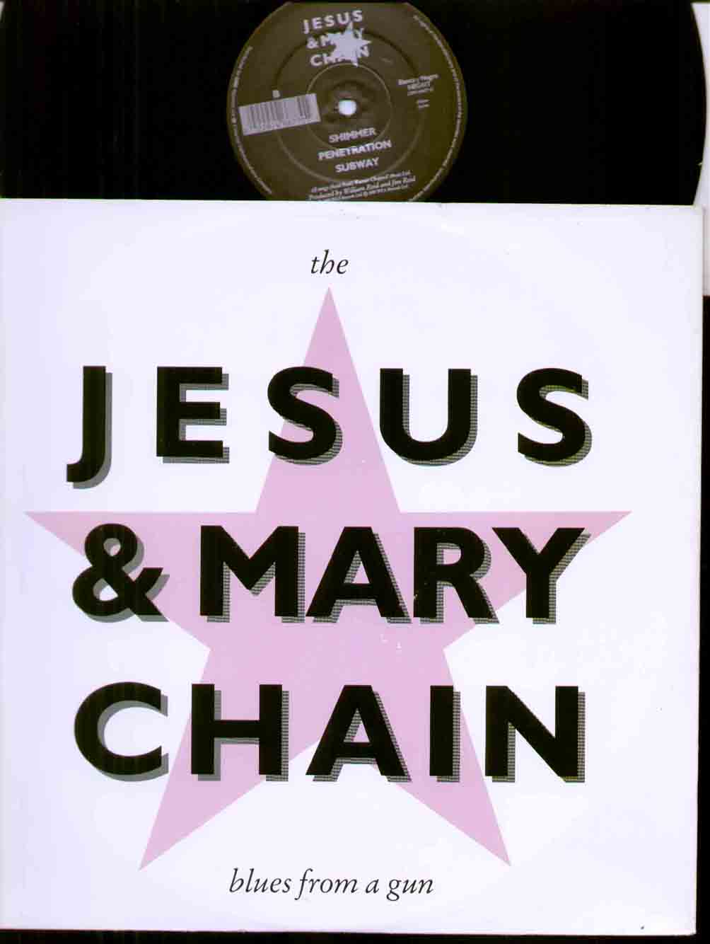 Jesus And Mary Chain Blues+From+A+Gun 12''