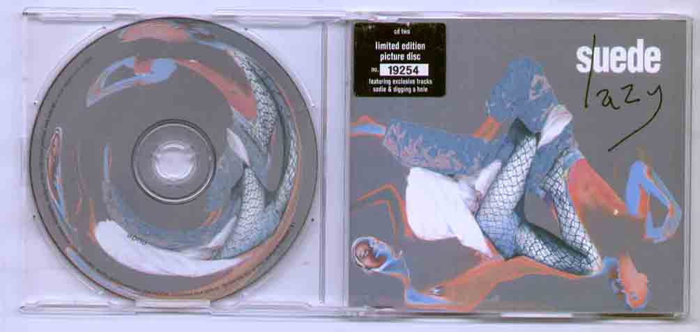SUEDE - LAZY - CD