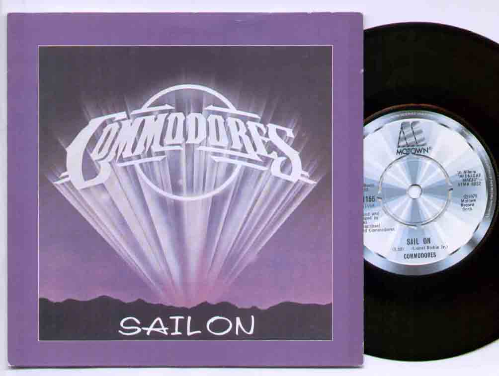 Commodores - Sail On Single