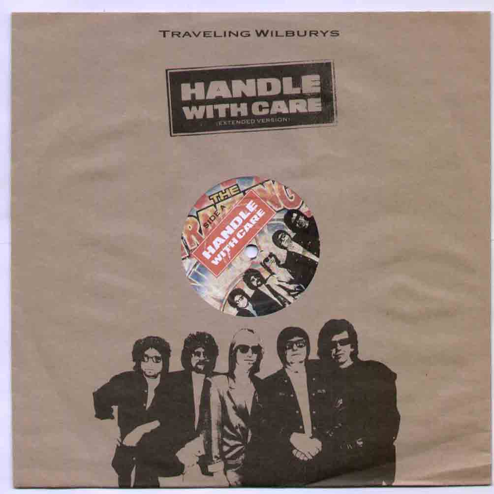 Traveling Wilburys Handle With Care 10''