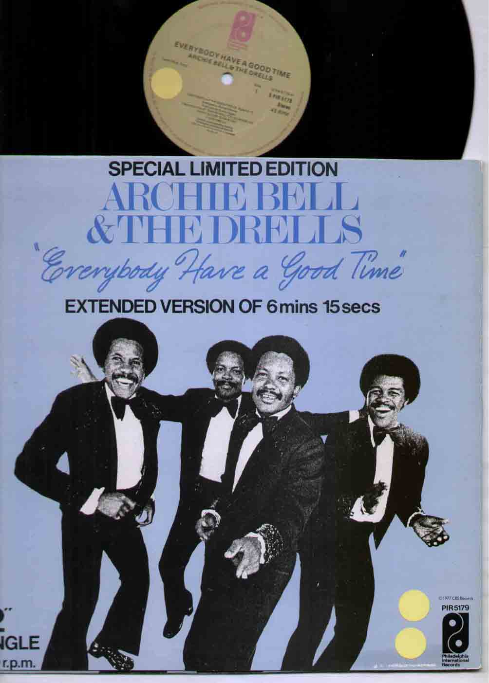Archie Bell And The Drells Everybody Have A Good Time 12''