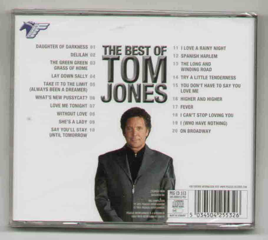 Tom Jones Best+Of+Tom+Jones CD