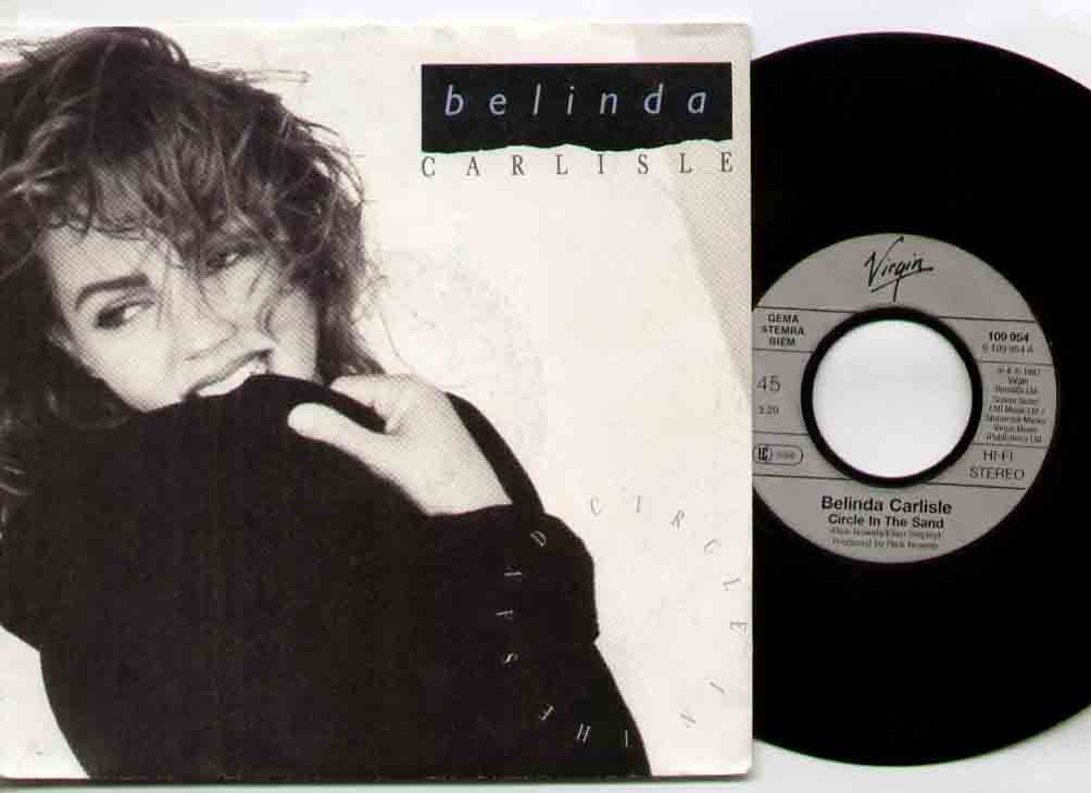 Belinda Carlisle Circle+In+The+Sand 7''