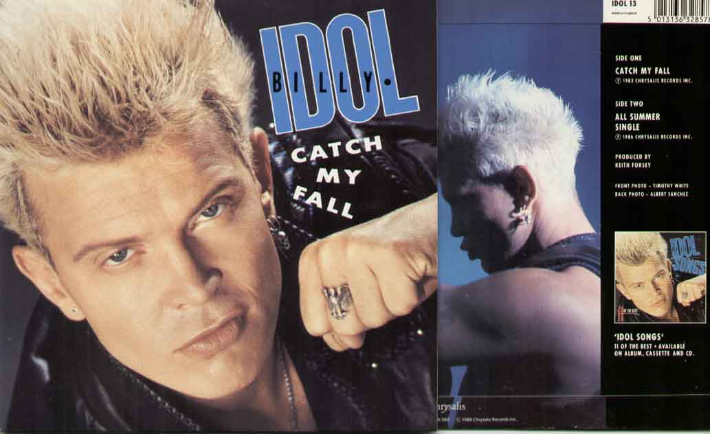 Billy Idol Catch+My+Fall 7''