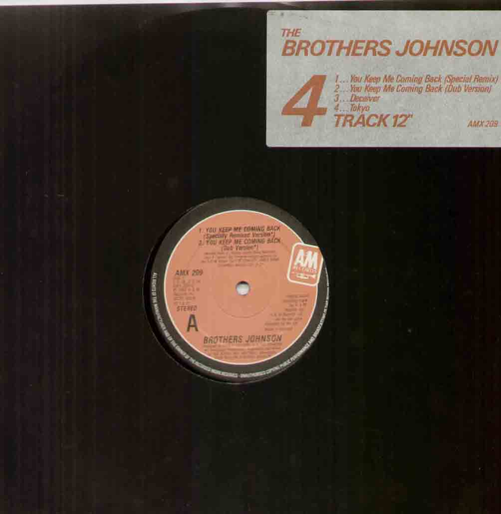 Brothers Johnson You+Keep+Me+Coming+Back 12''