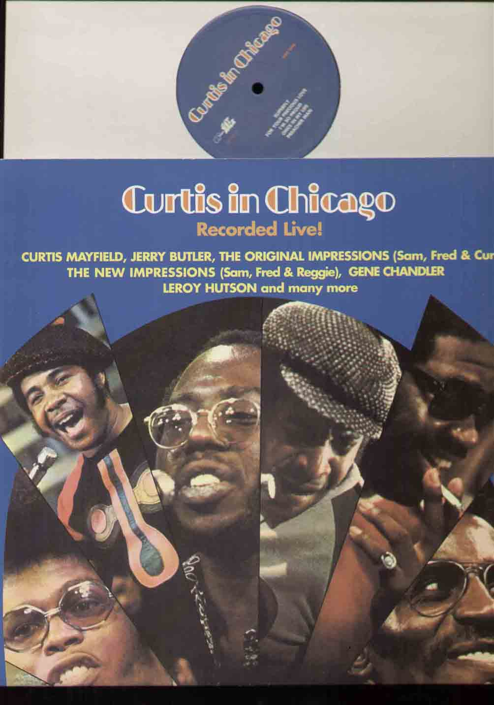 Curtis Mayfield Curtis+In+Chicago LP