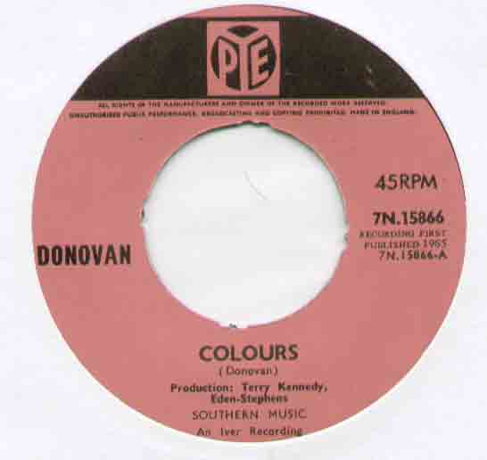 Donovan - Colours Single