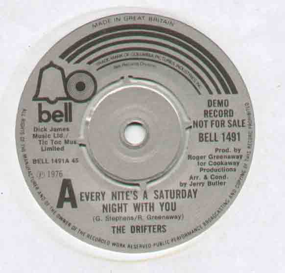 Drifters Every Nite's A Saturday Night With You 7''