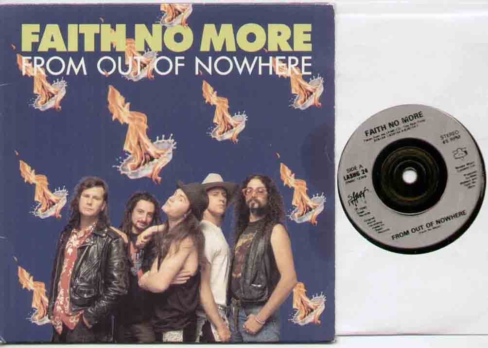 FAITH NO MORE - From Out Of Nowhere Album