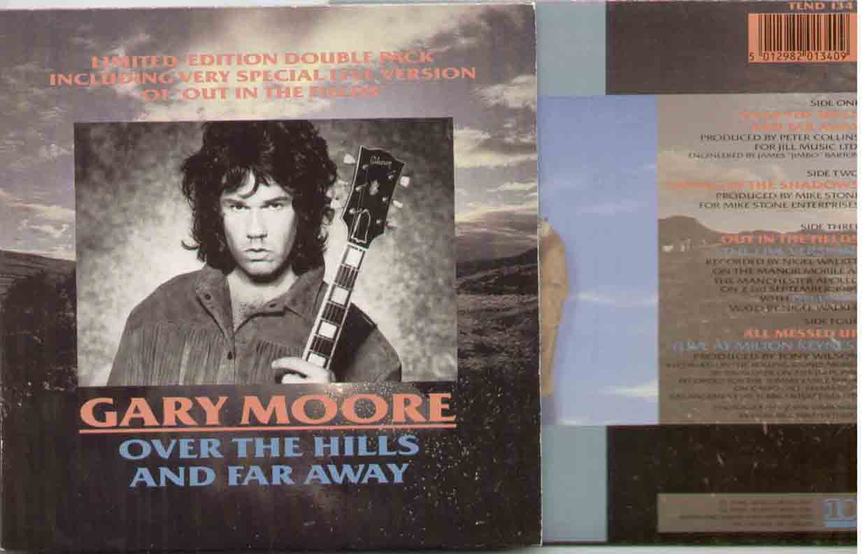 GARY MOORE - Over The Hills