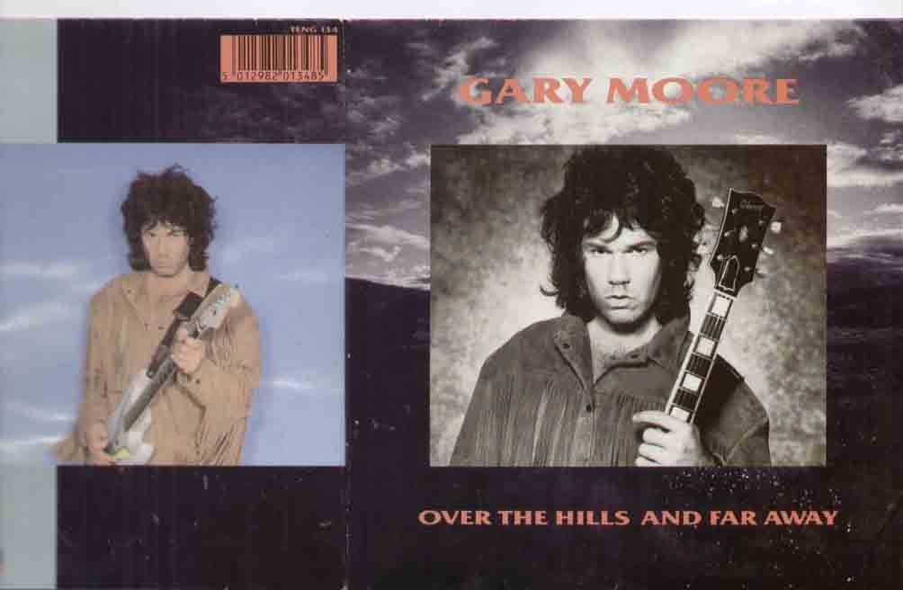 GARY MOORE - Over The Hills And Far Away LP