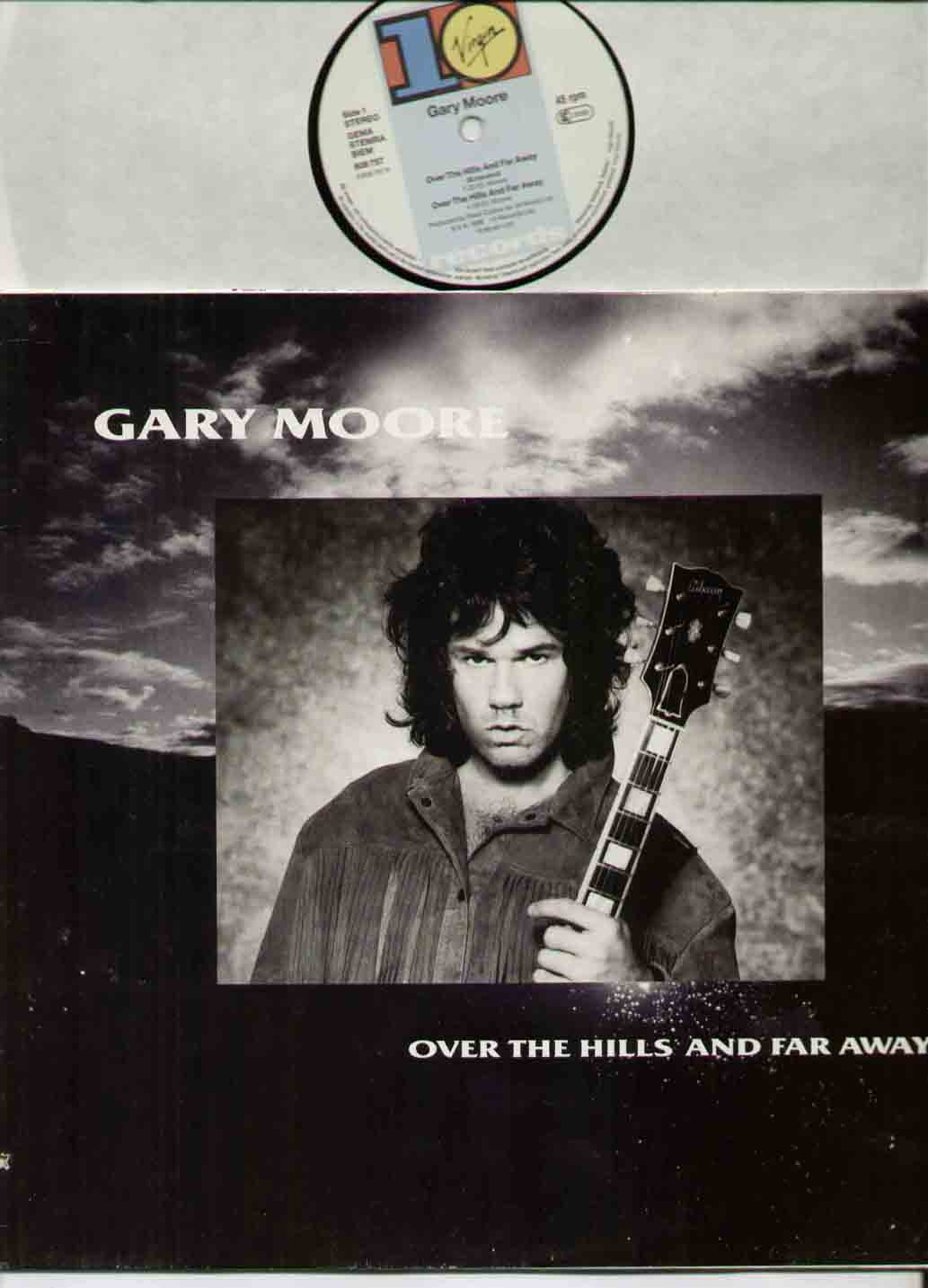 GARY MOORE - Over The Hills Album