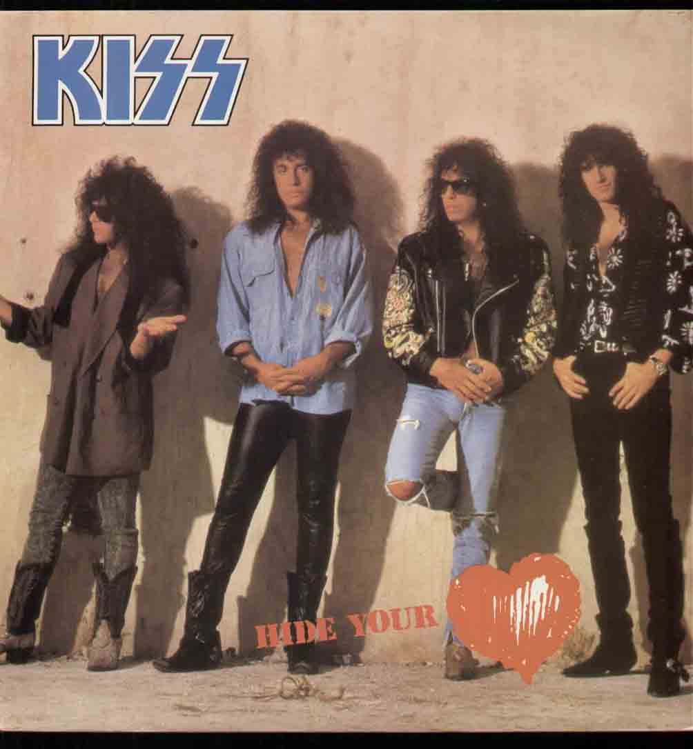 Kiss Hide Your Heart Records Lps Vinyl And Cds Musicstack