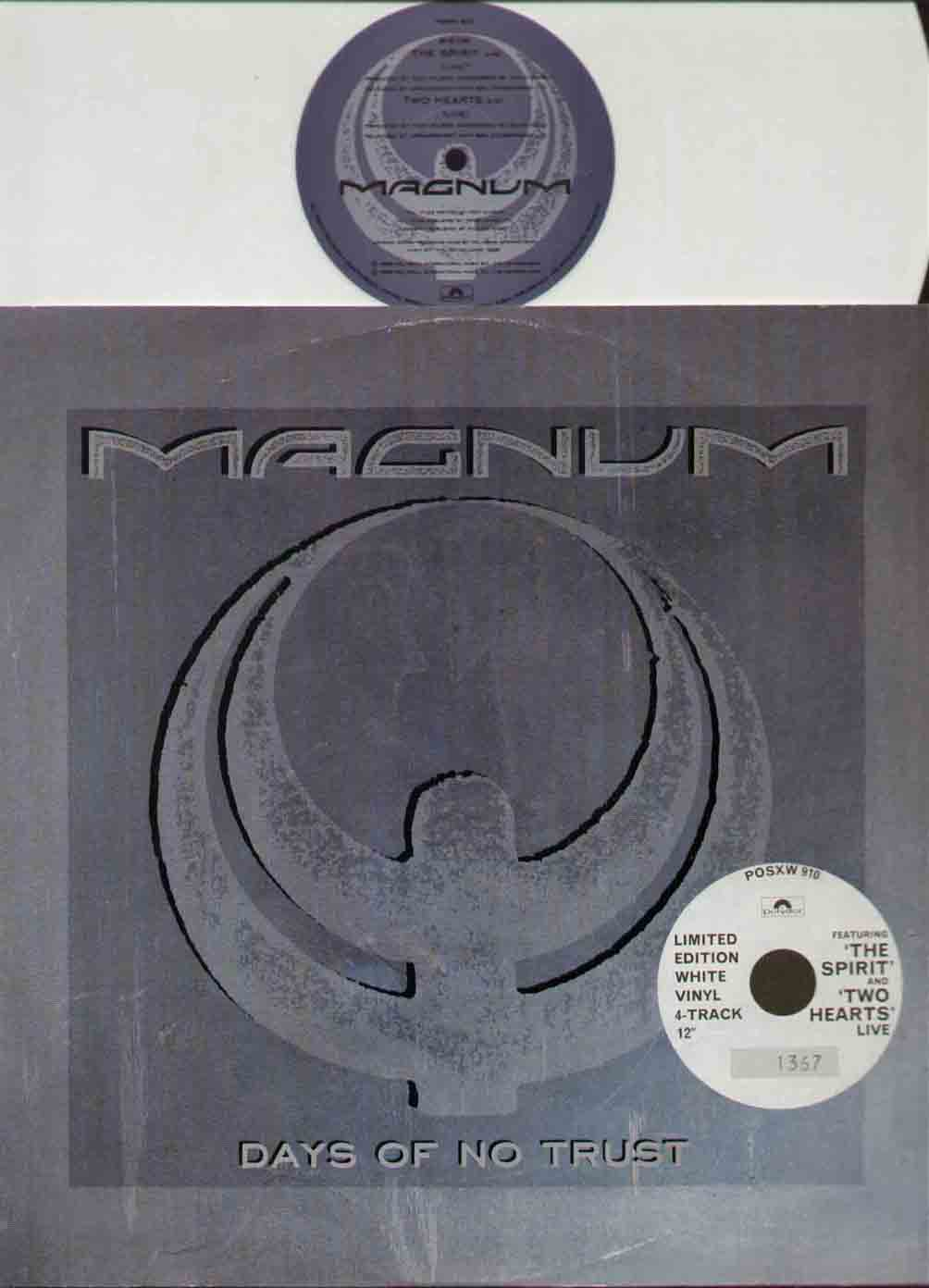 Magnum - Days Of No Trust CD