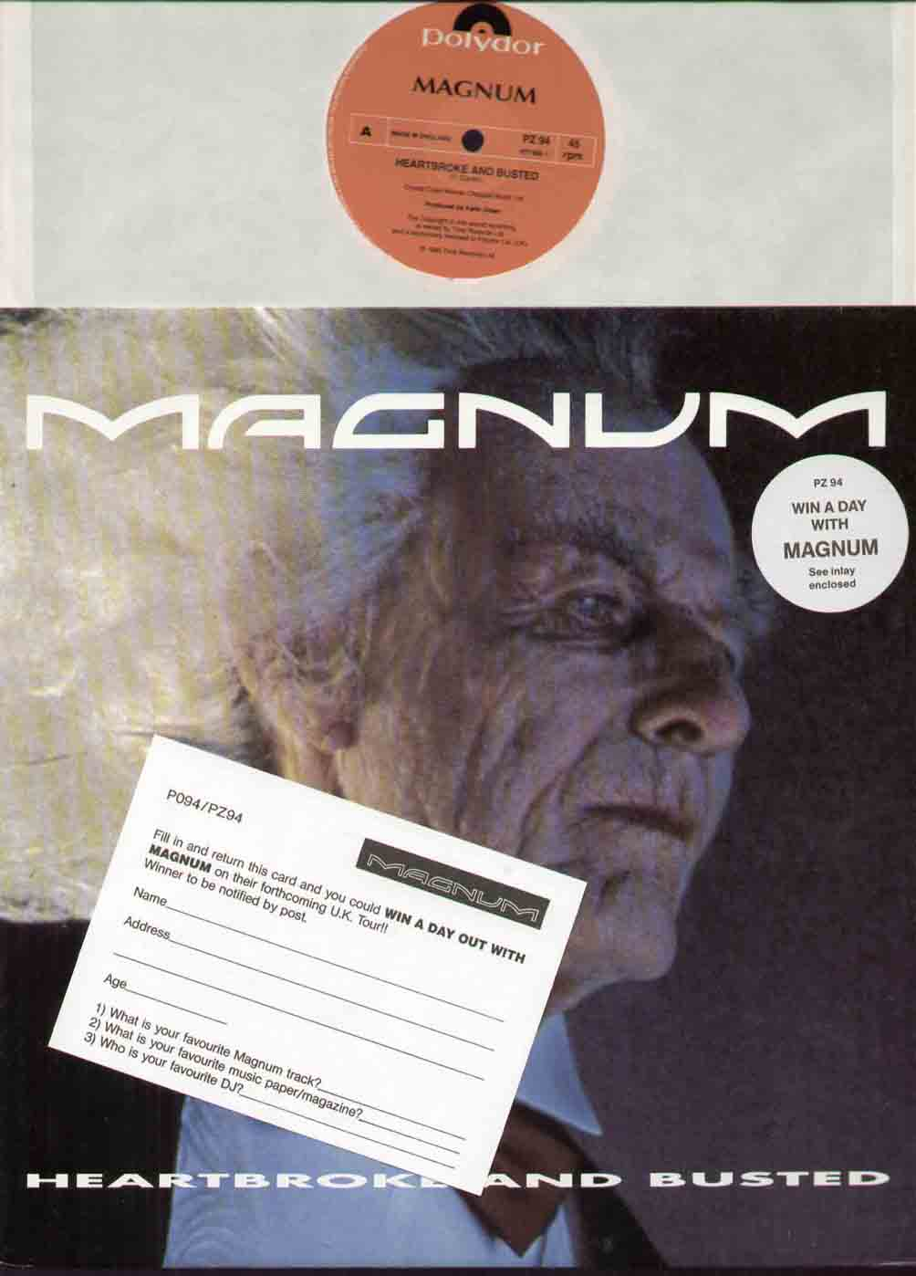 Magnum - Heartbroke And Busted LP