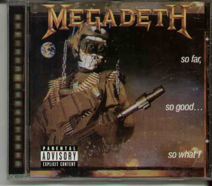 Megadeth So+Far+So+Good+So+What CD