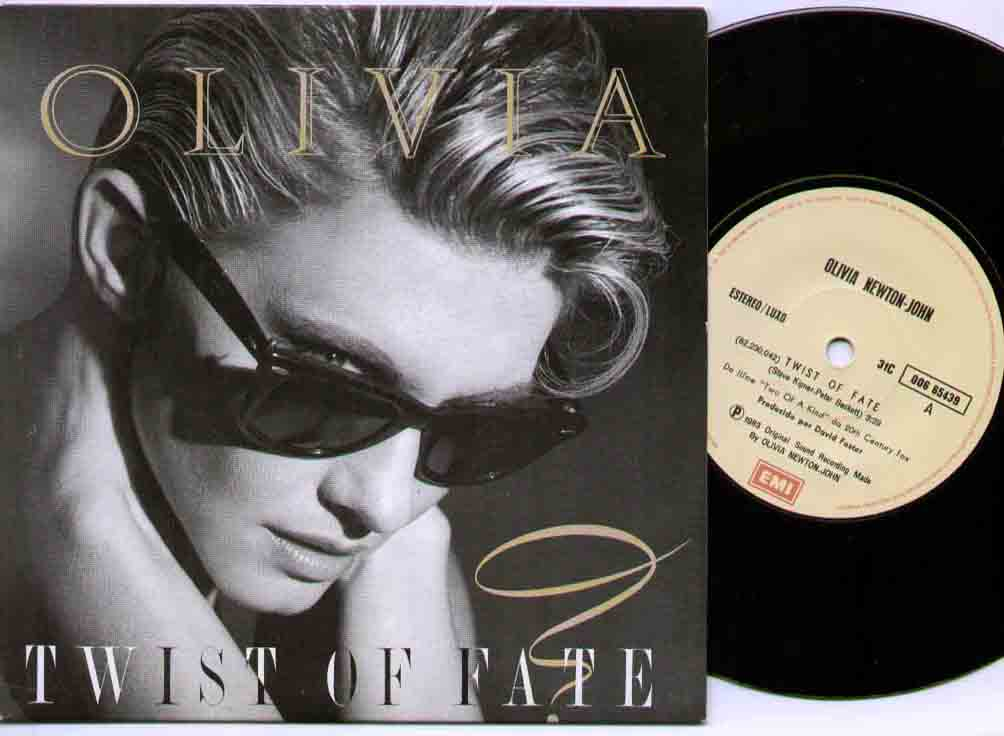 Olivia Newton John - Twist Of Fate Record