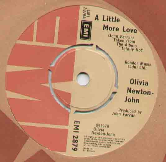 A Little More Love - Olivia Newton John