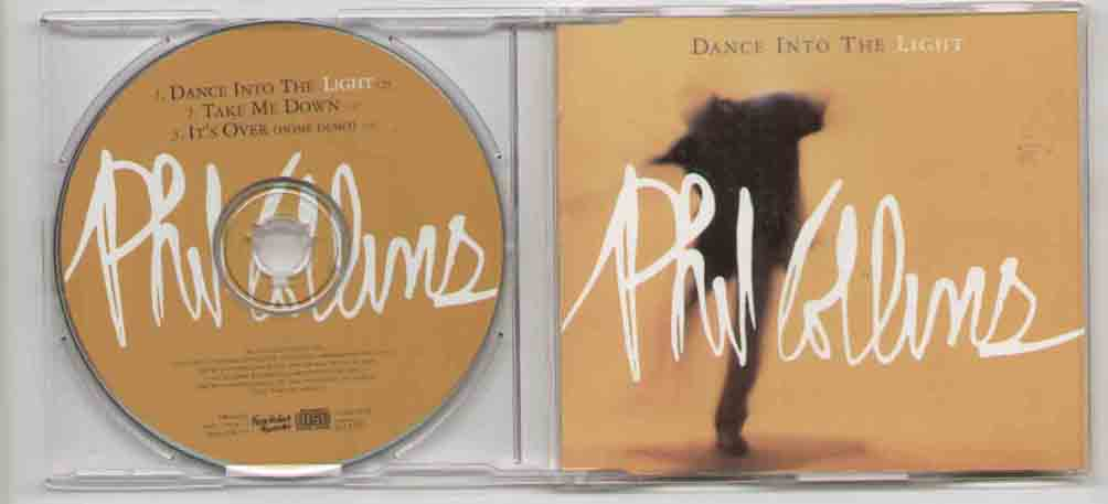 Phil Collins Dance+Into+The+Light CD