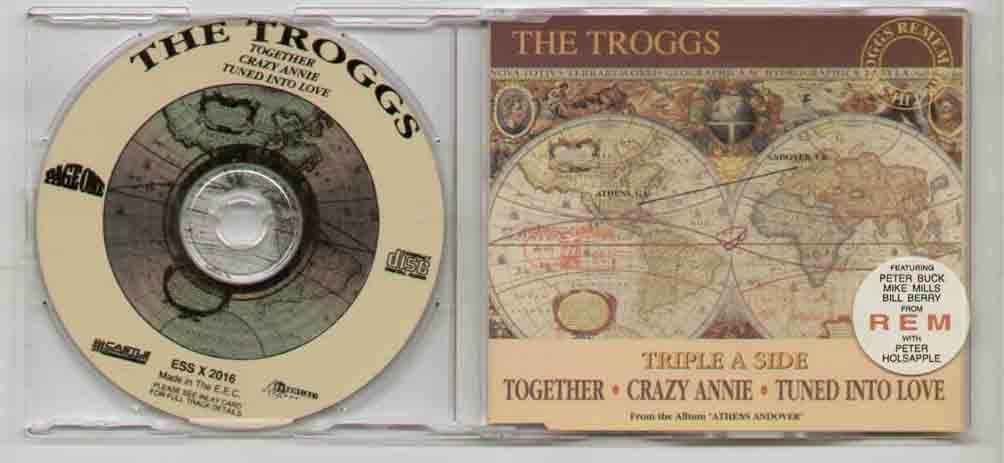 Rem Troggs / Rem Together CD