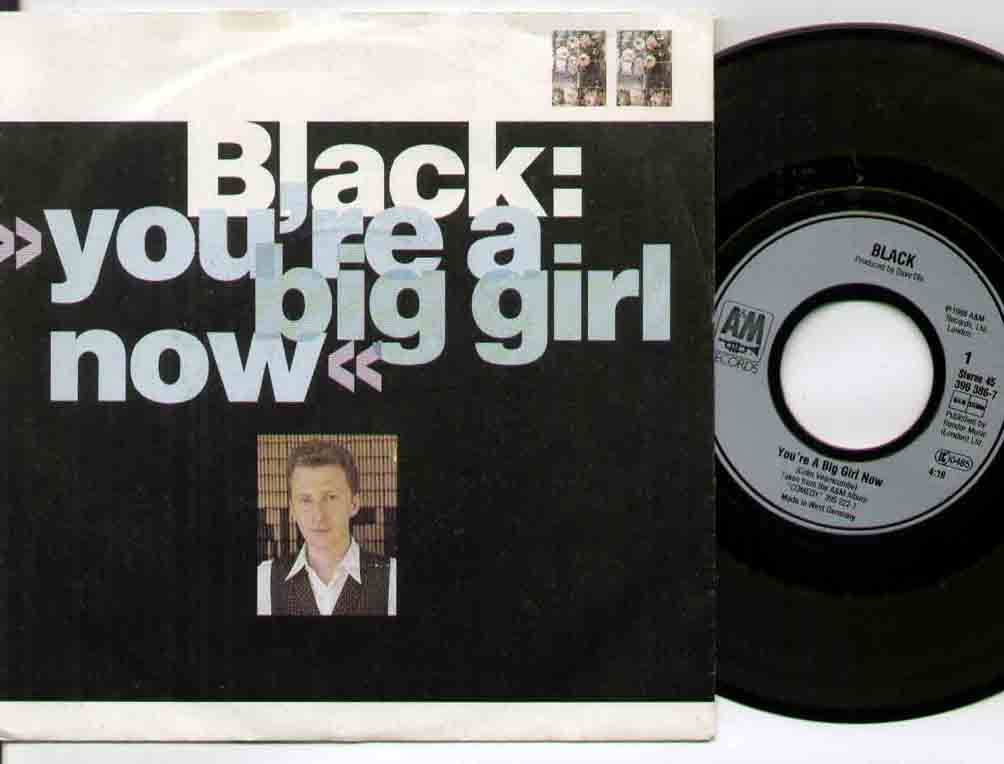 Black You're+A+Big+Girl+Now 7''