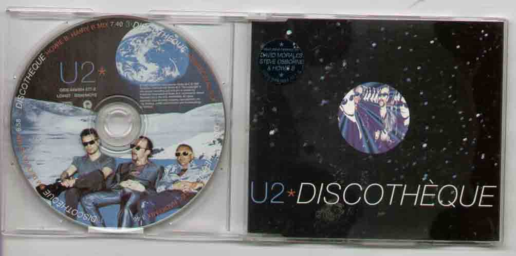 U2 - Discotheque Record