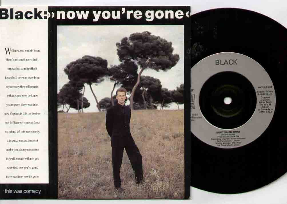 Black Now+You're+Gone 7''