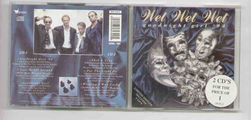 Wet Wet Wet Goodnight+Girl+94 CD
