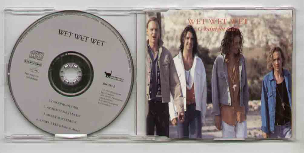 Wet Wet Wet Goodnight+Girl CD