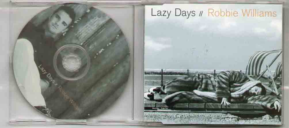 Robbie Williams Lazy+Days CD