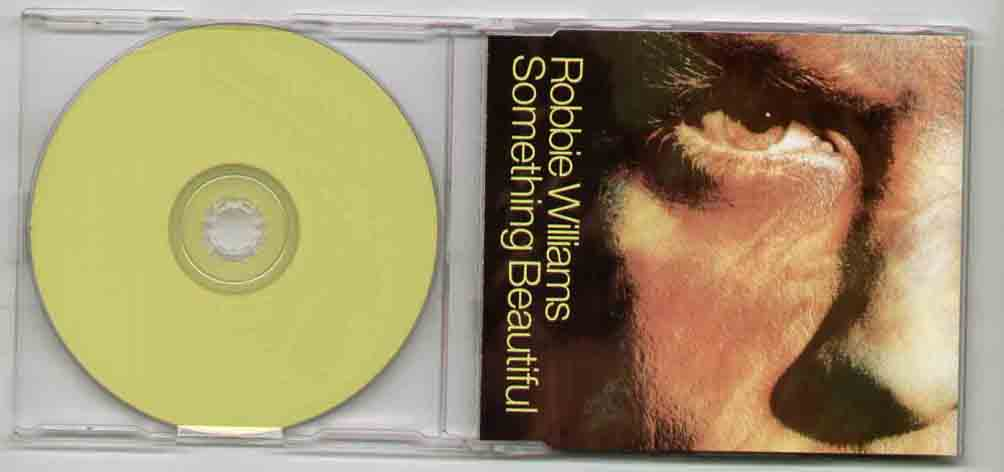 Robbie Williams Something+Beautiful CD